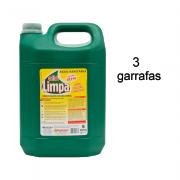 Água Sanitária 5L 3 Unidades Gota Limpa
