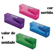 Apontador 1 Furo com Depósito Glitter Faber Castell