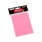 Bloco Autoadesivo 38mm x 51mm Rosa Neon 4 Blocos c/ 100 Folhas BRW