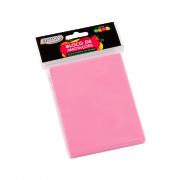 Bloco Autoadesivo 76mm x 102mm Rosa Neon 100 Folhas BRW