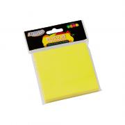 Bloco Autoadesivo 76mm x 76mm Amarelo Neon 100 Folhas BRW