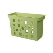 Caixa Arquivo Verde Pistache Sem Pasta Suspensa DelloColor