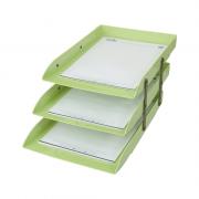 Caixa de Correspondência Tripla Móvel Verde Pistache Dello