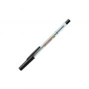Caneta Esferográfica Fina 0.7mm Preto Compactor