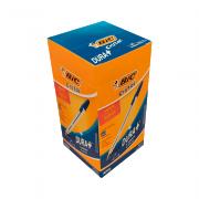 Caneta Esferográfica Cristal Média 1.0mm Azul 50 Unidades Bic