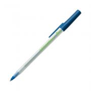Caneta Esferográfica Média 1.0mm Round Stic Azul Ecolutions Bic