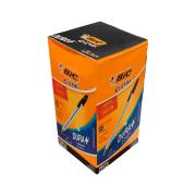 Caneta Esferográfica Cristal Média 1.0mm Preta 50 Unidades Bic