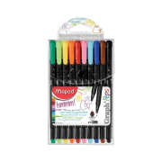 Caneta Fineliner 0.4mm 10 Cores Graph'Peps Maped