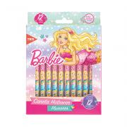 Caneta Hidrográfica Ponta Fina Barbie 12 Cores Tris