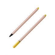 Caneta Fineliner 0.4mm Amarelo Microline Compactor