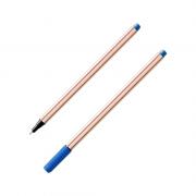 Caneta Fineliner 0.4mm Azul Microline Compactor