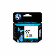 Cartucho de Tinta 14mL Preto 97 C9363WB HP
