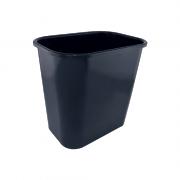 Cesto de Lixo 12,5 L Preto Dello