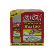 Cola Bastão Ecola 10g 12 Unidades Radex