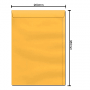 Envelope Ouro 260mm x 365mm 80g 6176 Ipecol
