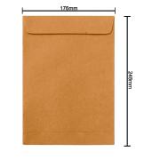 Envelope Kraft 176mm x 248mm 80g 6275 Ipecol