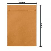 Envelope Kraft 185mm x 248mm 80g 6281 Ipecol