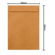 Envelope Kraft 260mm x 365mm 80g 6270 Ipecol