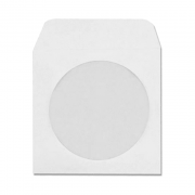Envelope Branco para CD/DVD com Visor 126 x 126mm 75g 6115 Ipecol