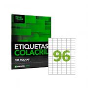 Etiqueta A4 31mm x 17mm 100 Folhas CA4348 Colacril