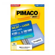 Etiqueta Carta 33,9mm x 101,6mm 100 Folhas 6182 Pimaco