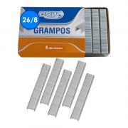 Grampo 26/8 Galvanizado 5000 Unidades BRW