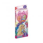 Lápis de Cor Barbie 12 Cores Corpo Sextavado Tris
