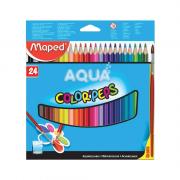 Lápis de Cor Color'Peps Aquarelável 24 Cores Maped