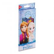 Lápis de Cor Frozen 12 Cores Corpo Sextavado Tris