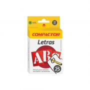 Letras e Algarismos Stencil 25mm Compactor