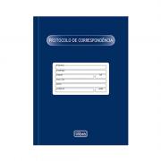 Livro Protocolo de Correspondência Capa Dura 104 Fls Tilibra