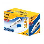 Marcador para Quadro Branco Recarregável Azul 12 Unidades Bic Marking