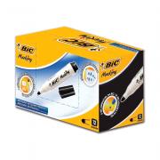 Marcador para Quadro Branco Recarregável Preto 12 Unidades Bic Marking