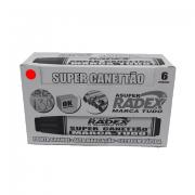 Marcador Permanente Vermelho 6 Unidades Super Canettão Radex