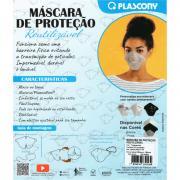 Máscara de proteção reutilizável 3 unidades Plascony