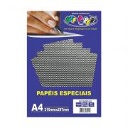 Papel Estampado A4 Preto 180g 10 Folhas Off Paper