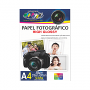 Papel Fotográfico High Glossy A4 200g 50 Folhas Off Paper