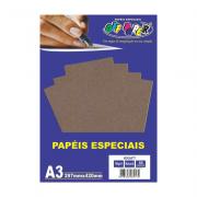 Papel Kraft Natural A3 180g 50 Folhas Off Paper