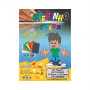 Papel Offpinho Color A4 8 Cores 75g 45 Folhas Off Paper