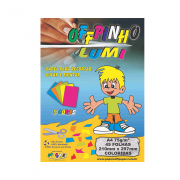 Papel Offpinho Lumi A4 5 Cores 75g 45 Folhas Off Paper