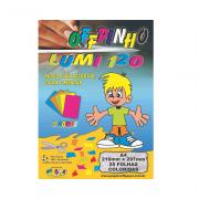 Papel Offpinho Lumi A4 5 Cores 120g 25 Folhas Off Paper