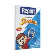 Papel Sulfite A4 Branco 75g 100 folhas Senninha Report