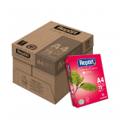 Papel Sulfite A4 Rosa 75g 2500 folhas Report
