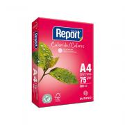 Papel Sulfite A4 Rosa 75g 500 Folhas Report