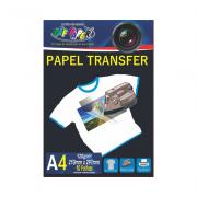 Papel Transfer A4 Tecidos Claros 120g 10 Folhas Off Paper