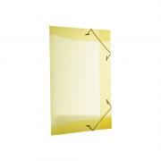 Pasta Aba Elástico Ofício Amarelo 50 Unidades Dello Line