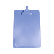 Prancheta Ofício Azul Claro DelloColor