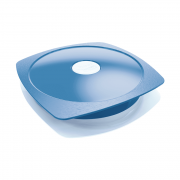 Prato de Plástico Azul Picnik Maped
