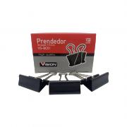 Prendedor de Papel Binder Clip 51mm 12 Unidades Vision