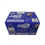 Tinta para Carimbo 40ml Azul 12 Unidades Radex